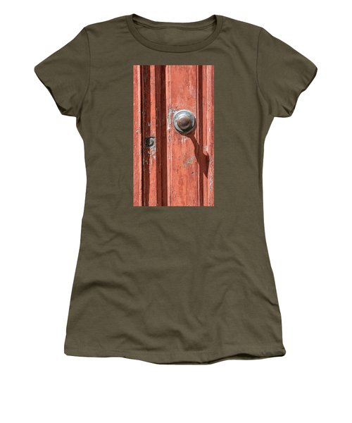 Shadow Door Of Tuscany Women's T-Shirt