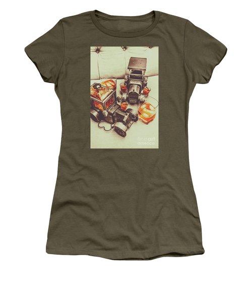 Shooting Through Women's T-Shirt