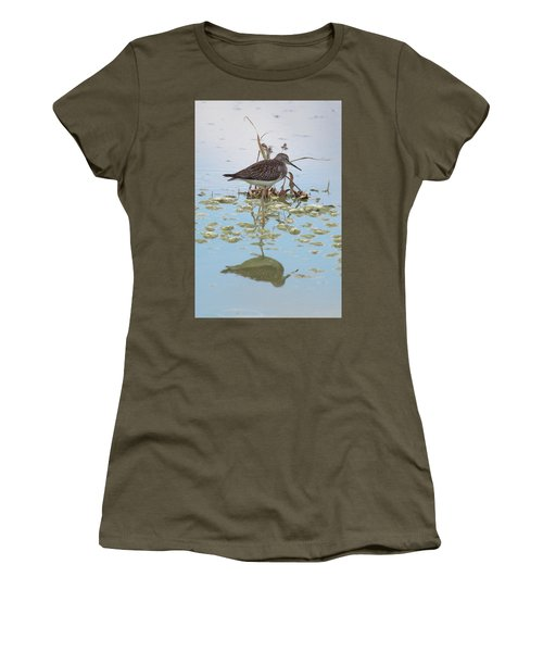 Shorebird Reflection Women's T-Shirt