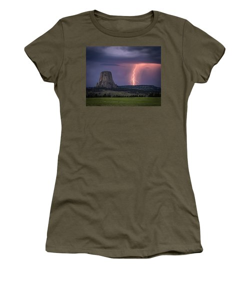 Showers And Lightning Women's T-Shirt