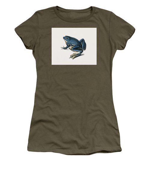 Shrinking Frog  Pseudis Merianae  Illustrated By Charles Dessalines D  Orbigny  1806 1876  2 Women's T-Shirt