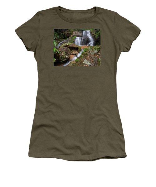 Shu Nu Waterfall 8x10 Horizontal Women's T-Shirt