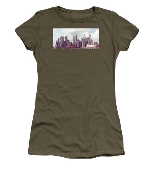 Singapore Cityscape The Second Women's T-Shirt