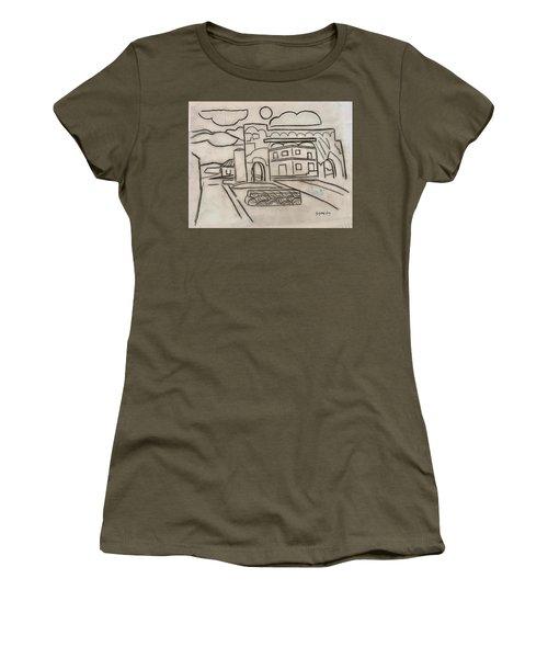 Sketch Of Arch Laguna Del Sol Women's T-Shirt