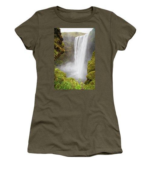 Skogafoss Iceland Women's T-Shirt