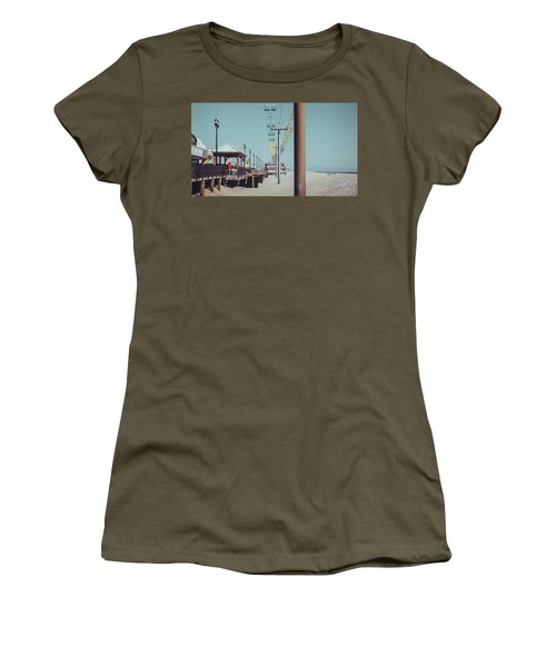 Women's T-Shirt featuring the photograph Sky Ride by Steve Stanger