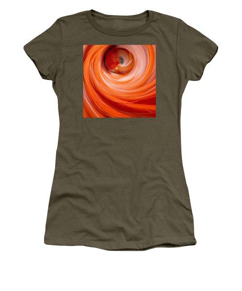 Sleeping Flamingo Women's T-Shirt