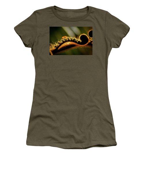 Sleepy Stretching Women's T-Shirt