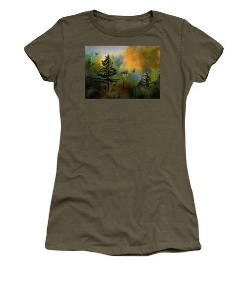 Smoky Mountain Morning Women's T-Shirt