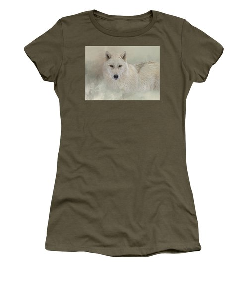 Snow Wolf Women's T-Shirt