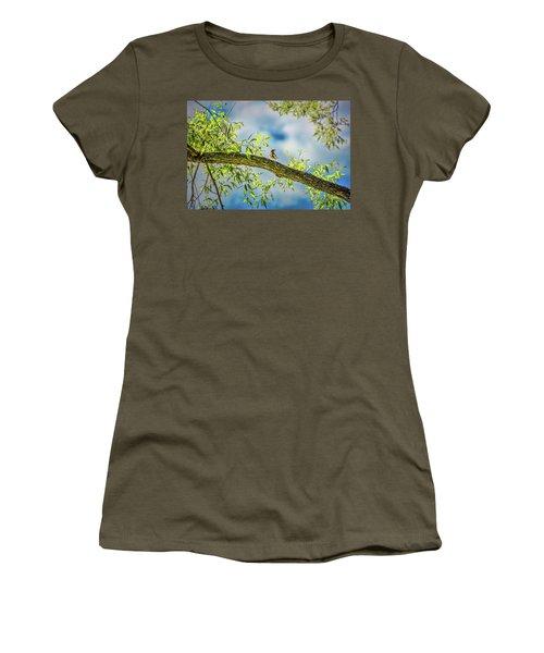 Someone Coming? #i2 Women's T-Shirt
