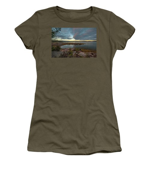 Somes Sound Sunset Women's T-Shirt