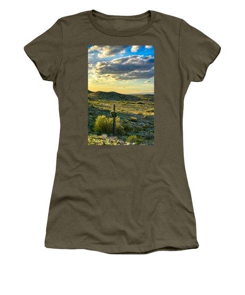 Sonoran Desert Portrait Women's T-Shirt