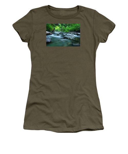 South Santiam River Women's T-Shirt