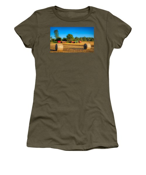 Soybean Harvest Women's T-Shirt