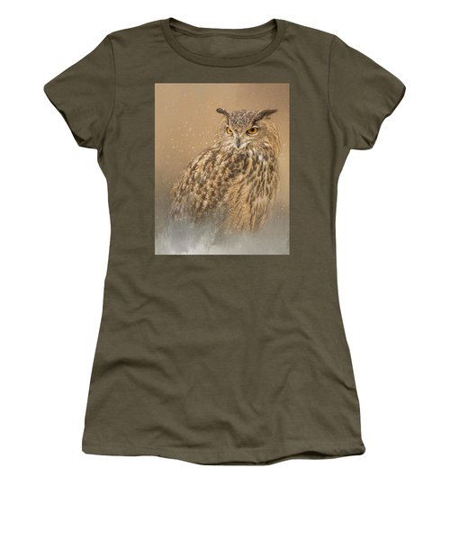 Spirit Of The Snow  Women's T-Shirt