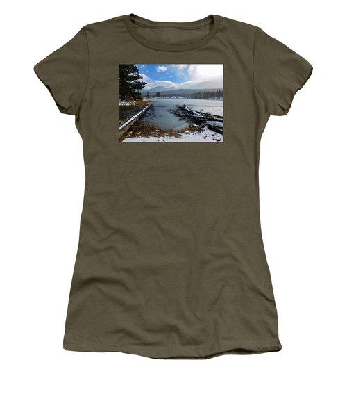 Women's T-Shirt featuring the photograph Sprague Lake by Dan Miller
