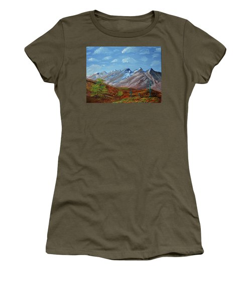 Spring Comes To Southern Arizona Women's T-Shirt