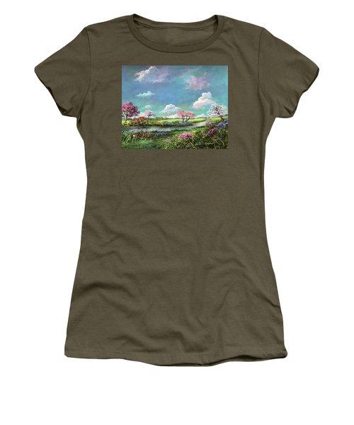 Spring In The Garden Of Eden Women's T-Shirt