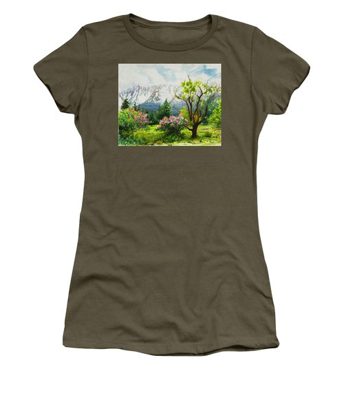 Spring In The Wallowas Women's T-Shirt