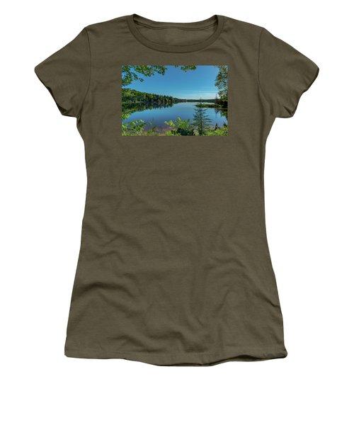 Spring Morning On Grand Sable Lake Women's T-Shirt