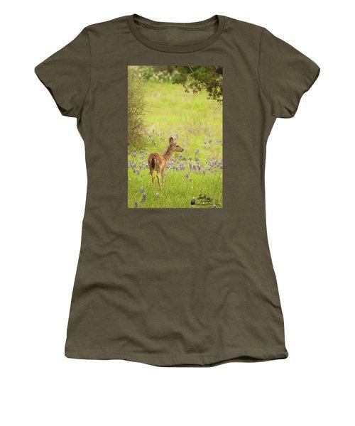 Springtime Whitetail Women's T-Shirt