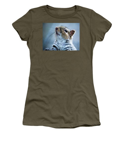Squirrel With Nose In The Air Women's T-Shirt