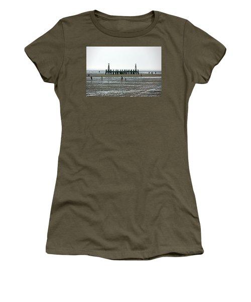St. Annes. On The Beach. Women's T-Shirt