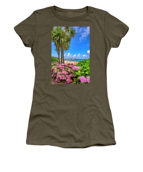 St Ives Cornwall - Summer Time Women's T-Shirt