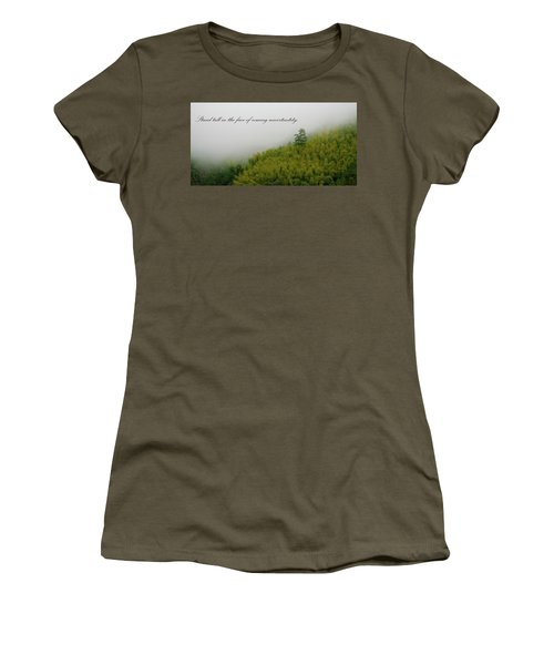 Women's T-Shirt featuring the photograph Stand Tall 2x1 by William Dickman