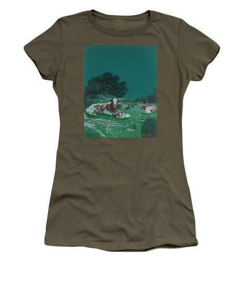 Stars Over Texas Women's T-Shirt