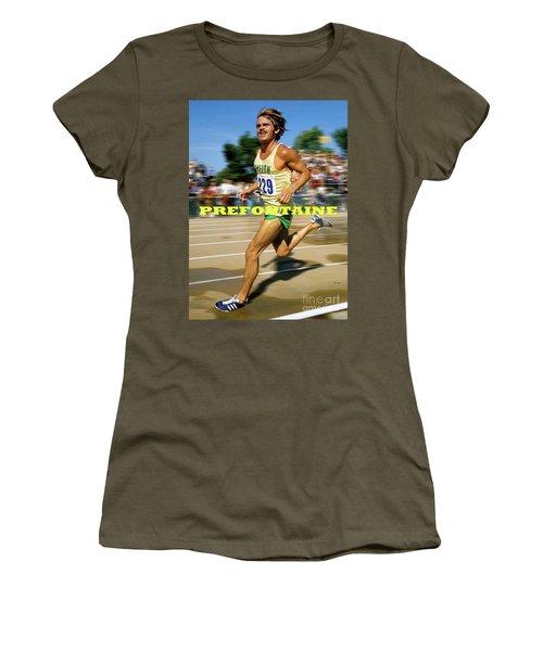 Steve Prefontaine, The Legend, Oregon Ducks Women's T-Shirt