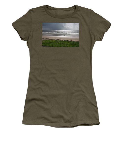 Storm Brewing Over The Sea Women's T-Shirt