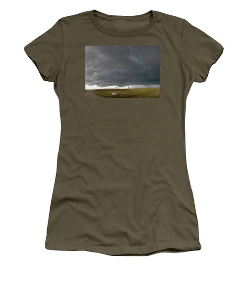 Storm Chasin In Nader Alley 016 Women's T-Shirt