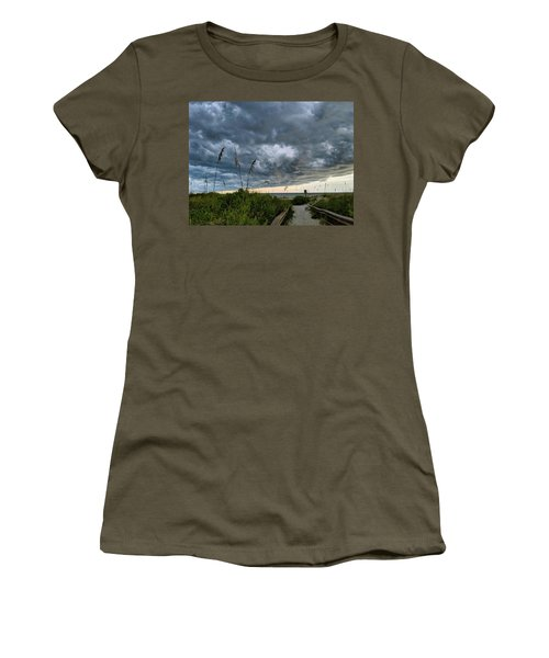 Stormy Sunset Women's T-Shirt
