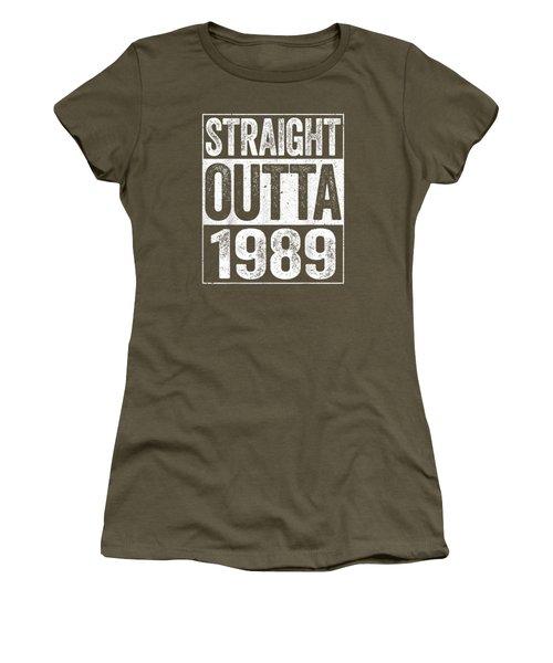 Straight Outta 1989 T-shirt 30th Birthday Gift Shirt Women's T-Shirt