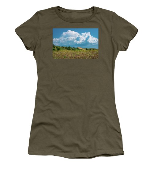 Summer Storm Over The Dunes Women's T-Shirt