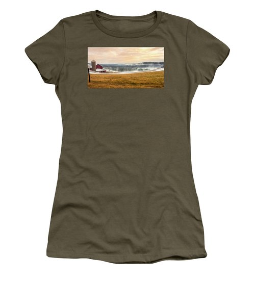Sunrise On The Farm Women's T-Shirt