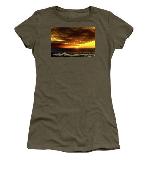 Sunset And Surf Women's T-Shirt