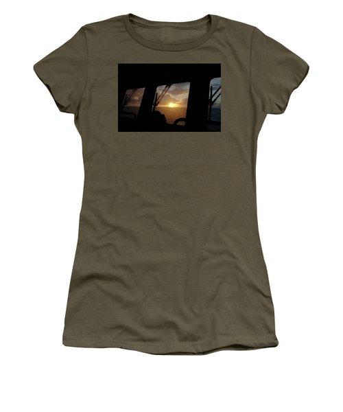 Sunset At Sea Women's T-Shirt
