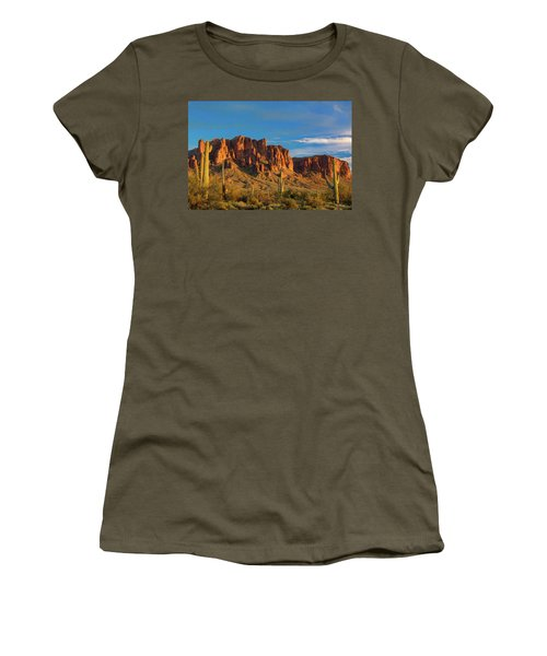 Sunset At Superstition Mountain Women's T-Shirt