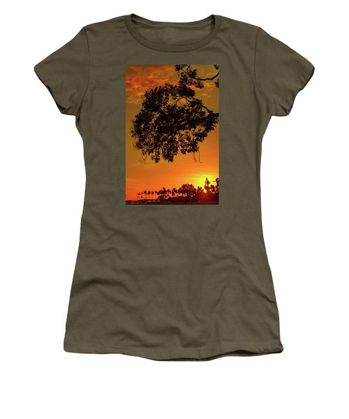 Sunset By The Pier Women's T-Shirt