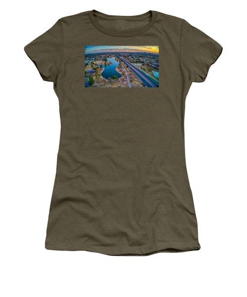 Sunset Over Chaparral  Women's T-Shirt