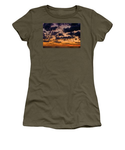 Sunset Over The Indian Ocean Women's T-Shirt