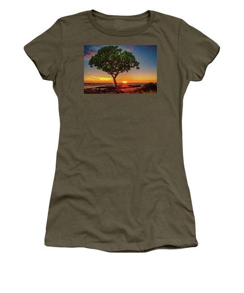 Sunset Tree Women's T-Shirt