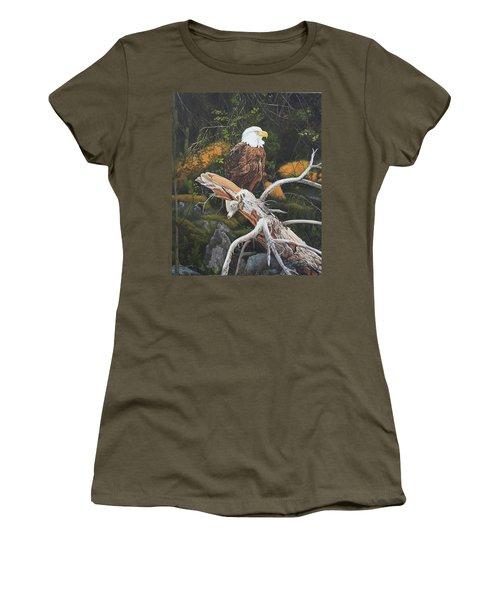 Surveying The Sea Women's T-Shirt