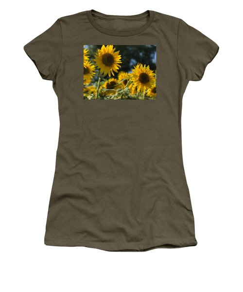 Sweet Sunflowers Women's T-Shirt