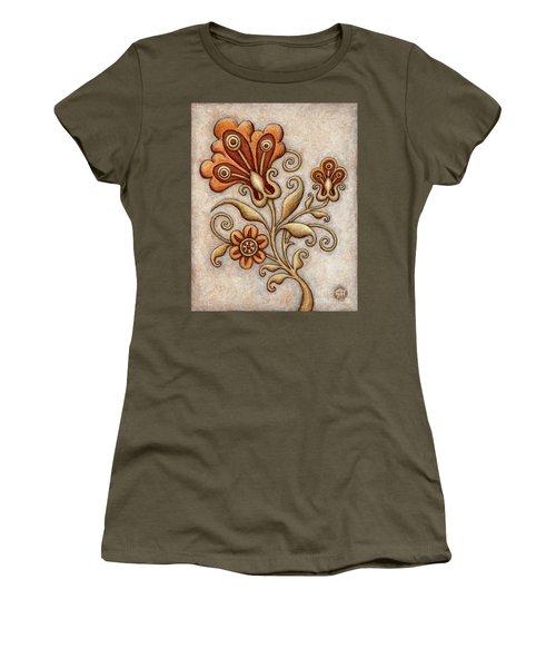Tapestry Flower 3 Women's T-Shirt