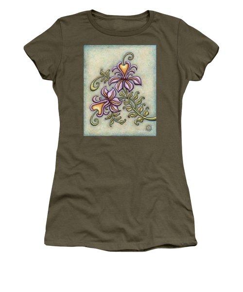 Tapestry Flower 8 Women's T-Shirt