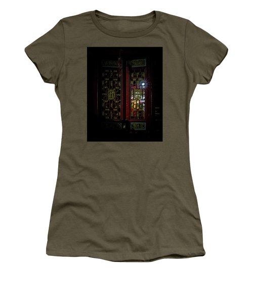 Temple Doorway On Old West Street Women's T-Shirt